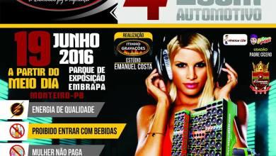 É AMANHÃ 4º Encontro de Som Automotivo na Fazenda Embrapa em Monteiro 4