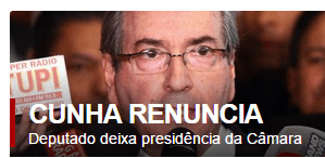 Eduardo Cunha renuncia ao cargo de presidente da Câmara dos Deputados 6