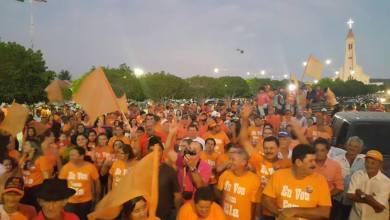Coligação inaugura comitê e realiza caminhada histórica em São Sebastião do Umbuzeiro 2