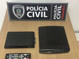 16770736280003622710000-300x225 Presos suspeitos de fraudes em contratos de TV por assinatura, em João Pessoa