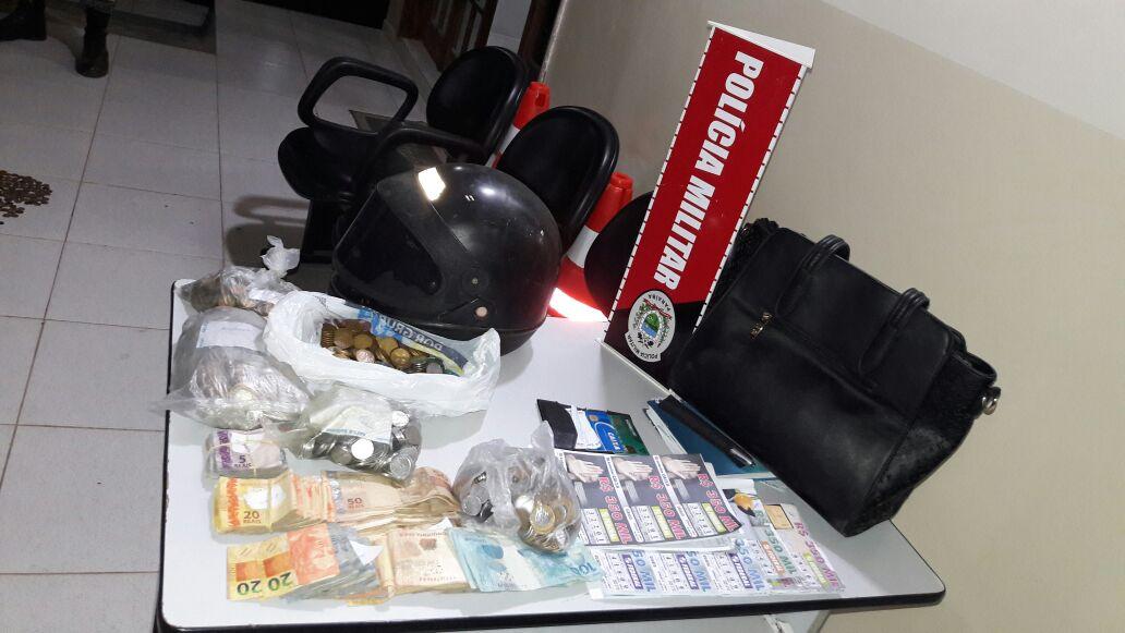 32442695-6094-47a5-93e6-63895def884b Policia Militar recupera dinheiro roubado na casa lotérica de Prata