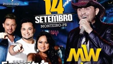 Mano Walter e Banda Encantu's fazem show nesta quarta-feira, em Monteiro 7