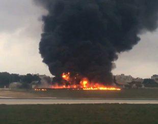 avi-o-queda-310x245 Cinco pessoas morrem em queda de avião na Europa