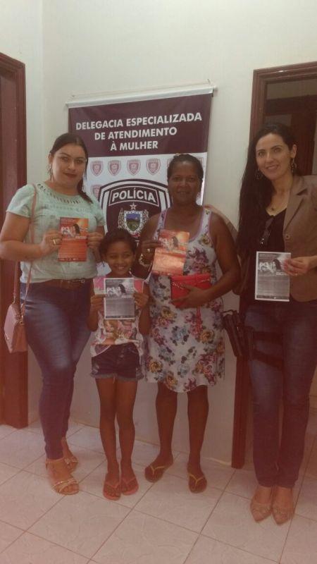 """fb1976c9-ac8b-4c84-be49-3ec4e884baa1 Delegacia da Mulher de Monteiro participa de evento internacional """"16 dias de ativismo pelo fim da violência contra a mulher"""""""