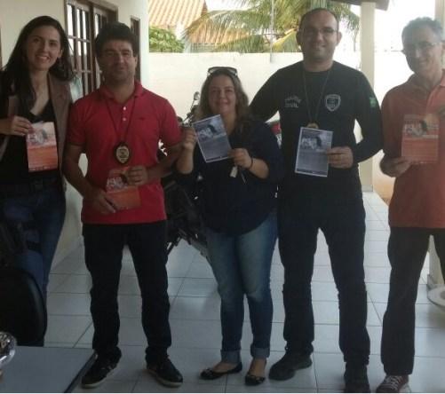 """policia-1 Delegacia da Mulher de Monteiro participa de evento internacional """"16 dias de ativismo pelo fim da violência contra a mulher"""""""