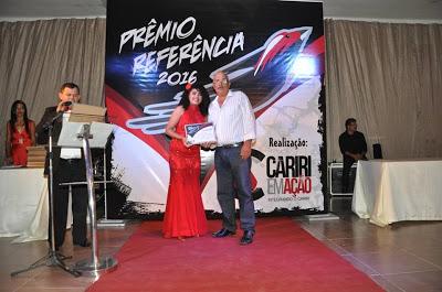 REF4 Prefeita Edna Henrique recebe PREMIO REFERENCIA por aprovação no Cariri