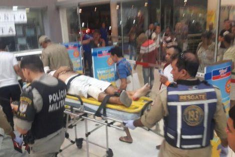 assalto_hiper_bompreco_joao_pessoa Duas pessoas são baleadas em assalto com tiroteio ao Hiper Bompreço