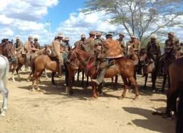 vaqueiro Missa do Vaqueiro e pega de boi são realizadas em São Sebastião do Umbuzeiro