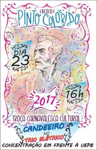 PINTO-COLORIDO Carnaval  é no bloco pinto colorido em Monteiro nesta  quinta-feira (23)