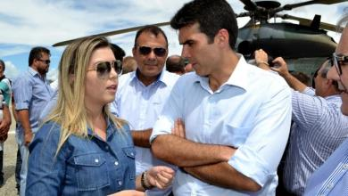 Anna Lorena acompanha comitiva do Ministro em visita à transposição 4