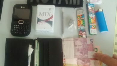 Dois menores são apreendidos com drogas e dinheiro em Monteiro 2
