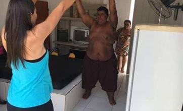 Paraibano que pesou mais de 420 kg está com 196 kg e já faz exercícios 2