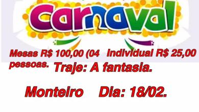 Maçonaria realizará II Grito de Carnaval em Monteiro no dia 18 de fevereiro 2