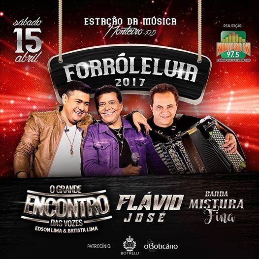 17264490_999893040111891_5380402519563810339_n Divulgada atrações musicais do Forró Leluia 2017, em Monteiro