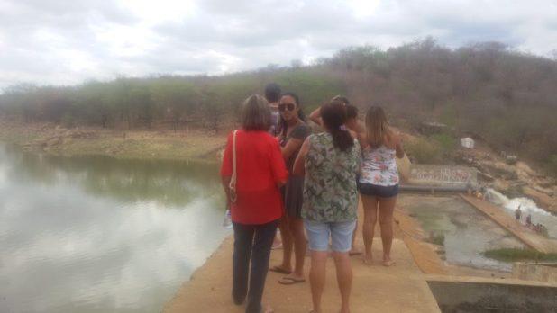 20170312_141015-1024x576 Centenas de pessoas visitan Barragem de São José no município de Monteiro neste Domingo.