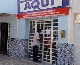 EXCLUSIVO: Dois homens armados assaltam agência da Caixa Aqui no centro de Monteiro 6