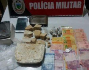 droga-monteiro-300x237 Polícia prende quatro pessoas suspeitas de tráfico de drogas em Monteiro