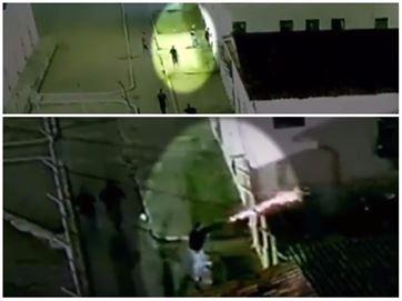 Vídeo exclusivo da Record TV mostra agentes de presídio da PB atirando contra presos 1