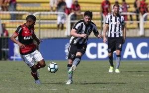 Flamengo e Botafogo não saem do zero em Volta Redonda 1