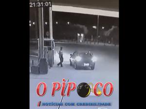 assalto-a-posto-em-monteiro-300x225 Exclusivo: Vídeo mostra ação de bandido em assalto a posto de combustíveis em Monteiro