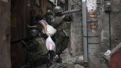 A vida parou na Rocinha, mais um símbolo do colapso do Rio 5