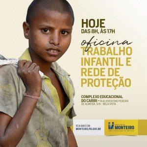 22007763_1382526108529118_5848868775847595743_n-300x300 Prefeitura de Monteiro, realiza oficina contra trabalho infantil