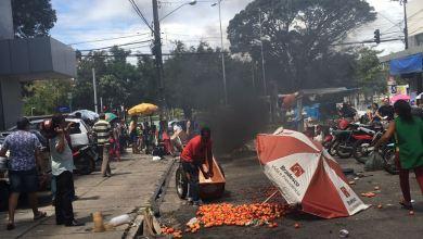Ambulante relata agressão de agente da Sedurb e comerciantes protestam no Centro de JP 4