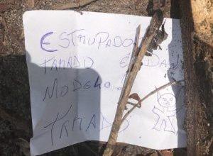 """Homem é encontrado morto em JP com bilhete ao lado: """"Estuprador"""" 2"""