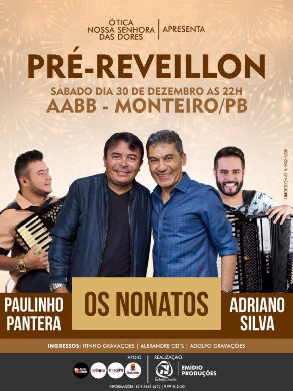 festatacio-768x1024 Pré-Réveillon de Monteiro terá Os Nonatos, Paulinho Pantera e Adriano Silva