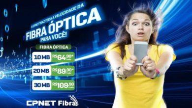 A CPnet traz a velocidade da Fibra Óptica até você 6