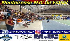 FUTSAL-MONTEIRO-300x176 Em jogos emocionantes, Net Mais e Rumaníacos vencem e fazem sexta-feira a Grande Final do Monteirense MJC de Futsal.