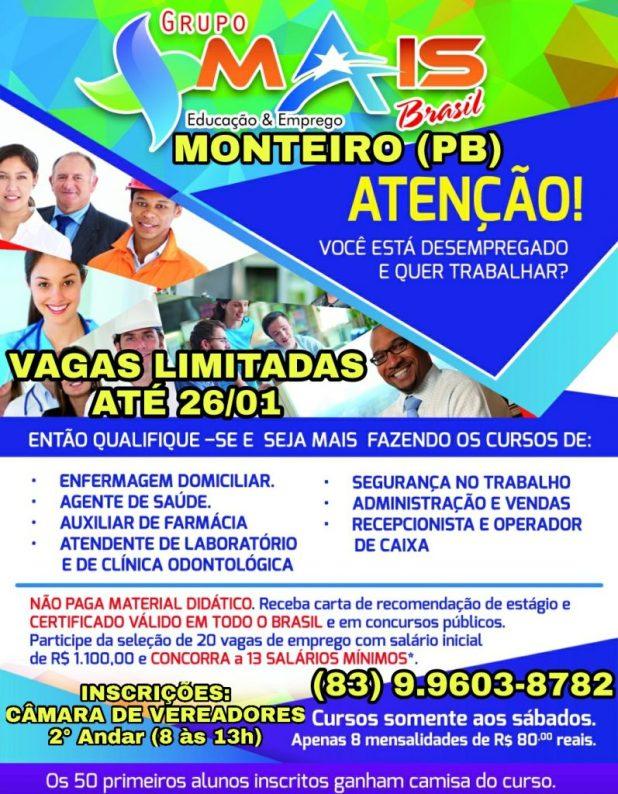 """PicsArt_01-22-01.36.23-797x1024 Atenção MONTEIRO e Região: Você está Desempregado e quer trabalhar? O Projeto """"Seja Mais Brasil"""" tem a solução?"""