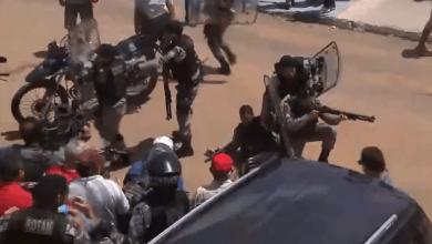 Ato em apoio ao ex-presidente Lula tem confronto com PM e 4 feridos em João Pessoa; vídeo 3