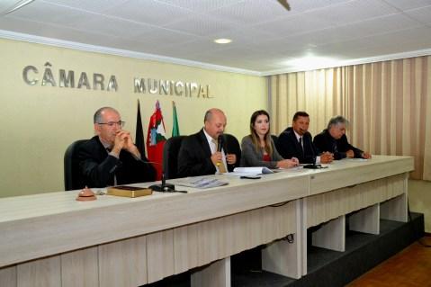 Lorena-Câmara Prefeita Anna Lorena participa da abertura dos trabalhos legislativos da Câmara de Monteiro