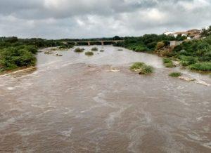 rio-taperoa-300x218 Chuvas no Cariri provocam aumento em rios Paraíba e Taperoá; previsão é de mais chuvas