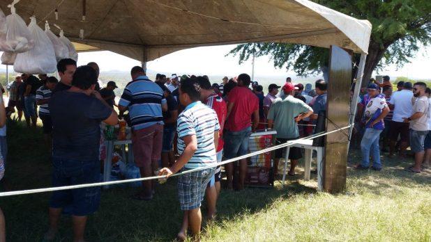 20180523_113812-1024x576 Em Monteiro: Caminhoneiros ocupam rodovias em protesto contra preço de combustíveis