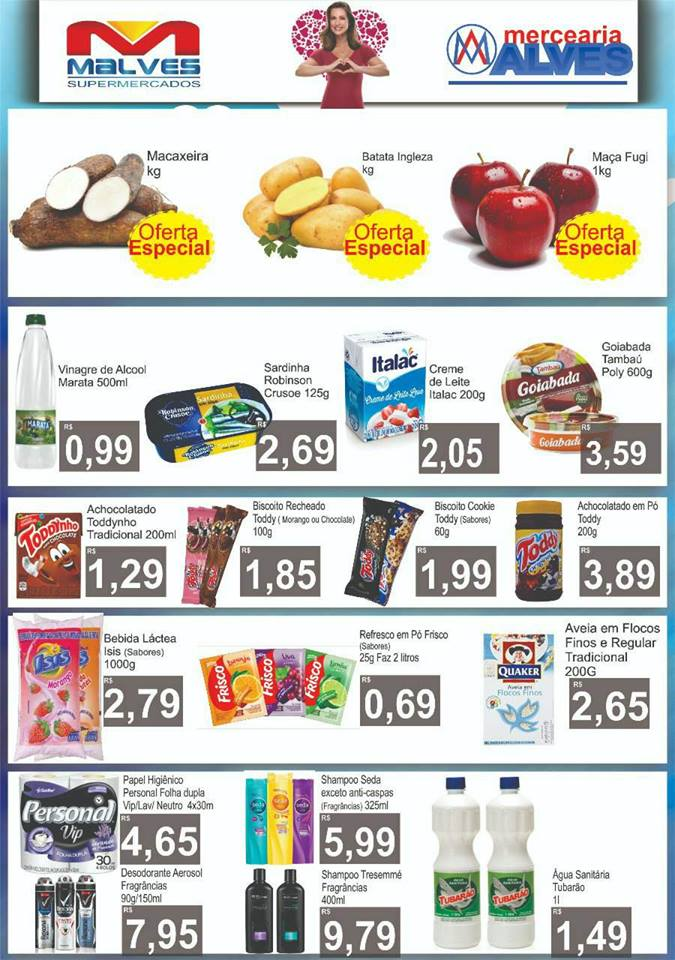 32260876_2054899494748340_1354891542837329920_n Mês das mães: Confira as novas ofertas do Malves Supermercados em Monteiro