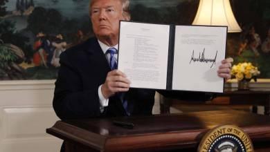 Trump anuncia saída dos EUA do acordo nuclear do Irã 2