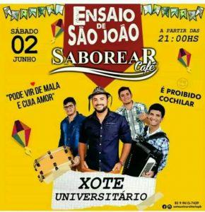 SABOREAR-CAFE-XOTE-UNIVERSITARIO-290x300 Sábado tem musica ao vivo ♫ no Saborear Café e Restaurante com Xote Universitário