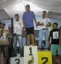 Foi um sucesso o 3º torneio de sinuca pequena realizado no ultimo domingo (03/06) em Zabelê 5