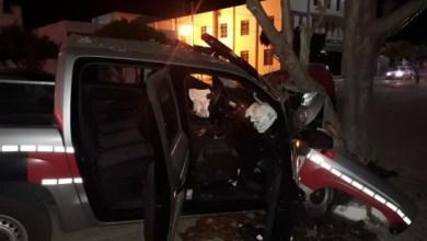 Motorista  é preso após provocar acidente com viatura em Monteiro 2