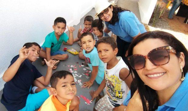 Desenvolvimento-Social2-1024x605 Momentos de lazer e palestra são oferecidos pela Secretaria de Desenvolvimento Social de Monteiro