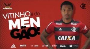 Vitinho é do Flamengo! Rubro-Negro anuncia contratação do atacante 1