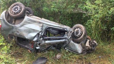 Mulher morre após veículo capotar em estrada da Paraíba 3
