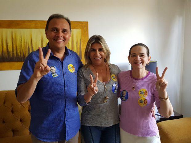 5FD4CB38-F968-4002-A799-E8BD1718C67E-620x465-1 Edna Henrique recebe adesão do deputado Manoel Ludgerio e da vereadora Ivonete Ludgério
