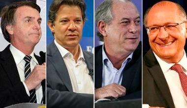 IstoÉ: Bolsonaro lidera com 30,6%, Haddad tem 24,5%, Ciro, 7,7% e Alckmin, 5,6% 11