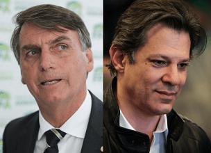PESQUISA BTG/PACTUAL: Bolsonaro tem 35% dos votos válidos; Haddad tem 27% 7