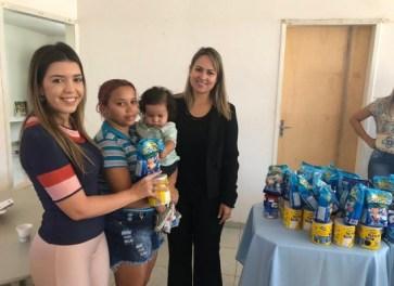 OAB-PB entrega latas de leite às famílias de comunidade em Monteiro 1