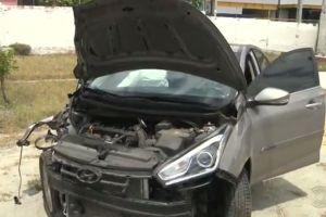 Polícia prende homem suspeito de abandonar carro clonado após colisão em Campina Grande 1
