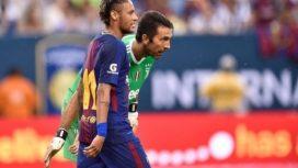 buffoneney-520x293 Neymar e Buffon são alvos da imprensa após eliminação do PSG na Champions